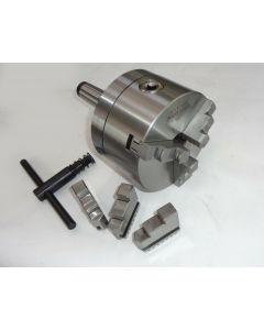 Dreibackenfutter (MK4 M16 Einspannschaft) D125 mm