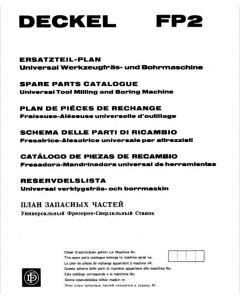 Ersatzteilplan Deckel FP2, ab Bj.75-77