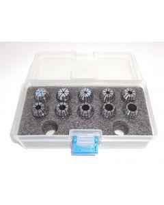 Spannzangensatz (Rl. 0,008mm) ER16 1-10 PBox