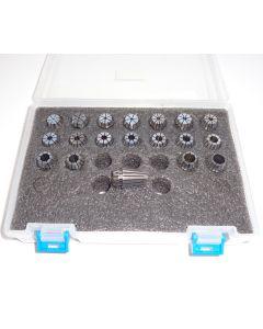 Spannzangensatz (8µm) ER16 1-10 steigend-0,5mm PBox