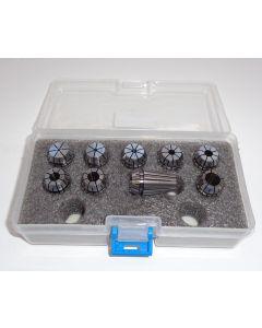 Spannzangensatz (8µm) ER16 1,5-9,5 steigend-1mm PBox