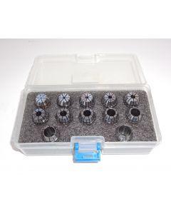 Spannzangensatz (8µm) ER16 1-12 steigend-1mm PBox