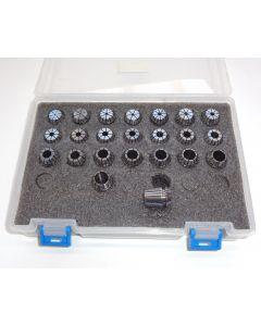Spannzangensatz (8µm) ER16 1-12 steigend-0,5mm PBox
