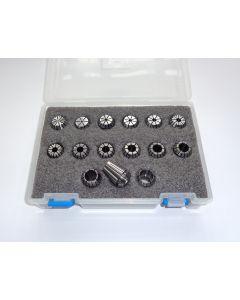 Spannzangensatz (Rl. 0,008mm) ER20 D1 - D15mm (PBox)