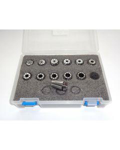 Spannzangensatz (Rl. 0,015mm) ER20 D2 - D13mm (PBox)