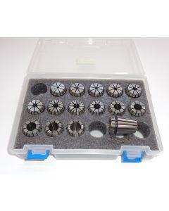Spannzangensatz (Rl. 0,015mm) ER25 D2-16 (PBox)