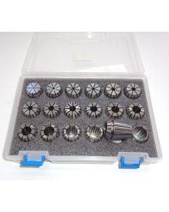 Spannzangensatz (8µm) ER25 D1-18 (PBox) 1mm-steigend