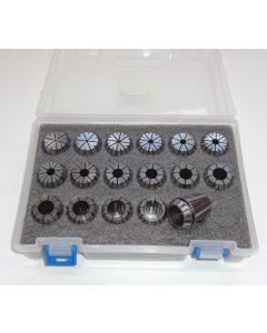 Spannzangensatz (8µm) ER25 D1,5-17,5 (PBox) 1mm-steigend