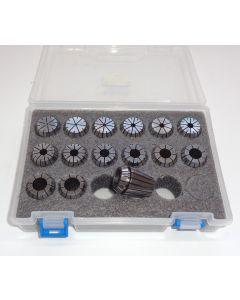 Spannzangensatz (8µm) ER25 D1,5-15,5 (PBox) 1mm-steigend
