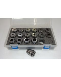 Spannzangensatz (Rl. 0,008mm) ER32 für Gewindebohrer M2-M26 (PBox)