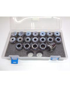 Spannzangensatz (8µm) ER32 (PBox) 1,5-19,5mm 1mm-steigend