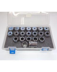 Spannzangensatz (8µm) ER32 (PBox) 1,5-21,5mm 1mm-steigend