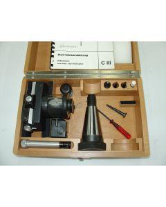 Centricator C III SK40 S20x2 neuw. z.B. für Deckel Fräsmaschine