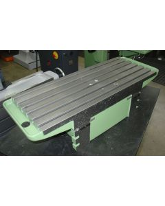 Feststehender Kastentisch für Deckel FP2 Fräsmaschine