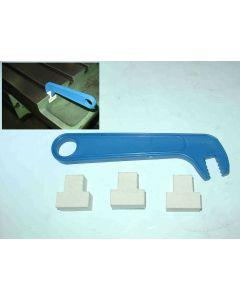 T-Nutenreiniger 16 mm für Deckel Fräsmaschine