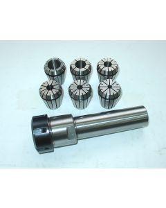 Spannzangenfutter zylindrisch ER32 30 L100 Satz (RI. 0,008mm) (6Stk.)