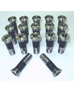 Spannzangensatz 358E W23  NEU 1,5 -17,5  mm, 1 mm steigend