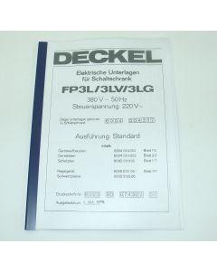 Elektrische Unterlagen (Schaltplan) Deckel FP3L-3LV ab Bj.78