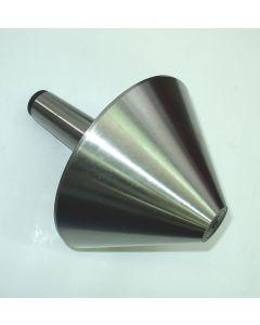 Mitlaufende Körnerspitze MK5 D=200 75° D1=40 NEU für Drehmaschinen