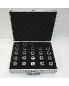 Spannzangensatz OZ462  D3-25mm im Alukoffer Rl. max. 8 µm z.B.Deckel Fräsmaschine