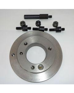 Mitnehmerscheibe D160 Camlock 3 für Drehmaschinen
