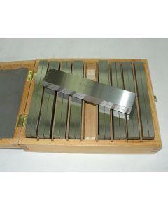 Parallelleistensatz - Parallelunterlagen 150x8,5 mm 9 Satz, Deckel  Fräsmaschine