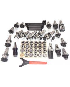 Werkzeugsatz SK40 DIN69871 (groß) Deckel Fräsmaschine (ER40 RI. 0,008mm)