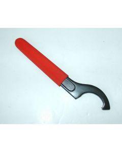 Schlüssel (rot) für Abdrückmutter MK4 Spannzangenaufnahme, Hakengröße 55-62