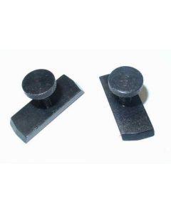 2 Klemmpratzen für Deckel G1U,G1L,GK Graviermaschine 32mm