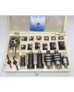 Revolverkopf Satz MK2 für 6 Werkzeuge, z.B. Weiler Drehmaschinen