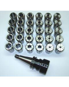 Spannzangenfutter SK40 S20x2 OZ467 D3-32 z.B. für Deckel Fräsmaschine