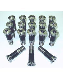 Spannzangensatz 358E W23  NEU 1 -18 mm, 1 mm steigend