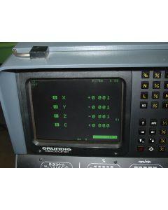 Monitor TFT für Deckel Fräsmaschine  Dialog 1-4