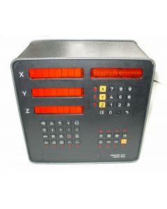 3 Achsen Zähler im Austausch (Exchange) VRZ 965  Digitalanzeige von Heidenhain