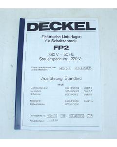 Elektrische Unterlagen (Schaltplan) Deckel FP2 ab Bj.80