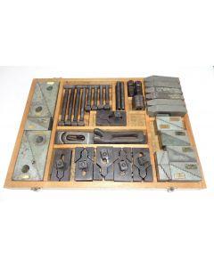 Spannwerkzeug-Satz für 12mm T-Nuten gebraucht z.B. für Deckel Fräsmaschinem