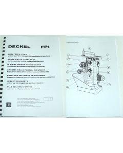 Ersatzteilplan Deckel Fräsmaschine FP1, ab Bj.1967 - 77