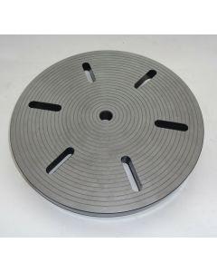 Planscheibe D300mm gebr. für Deckel-Teilapparat SK40