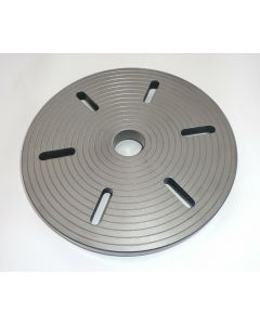 Planscheibe D300mm gebr. für Deckel-Teilapparat SK40.