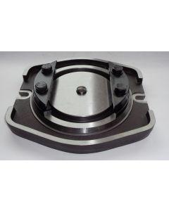 Drehplatte gebr. für Hydraulik Schraubstock Kesel 125 mm Backenbreite