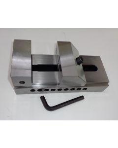 Schleif- Schraubstock QKG Niederzug, Backenb.125mm neu z.B.f Deckel Fräsmaschine
