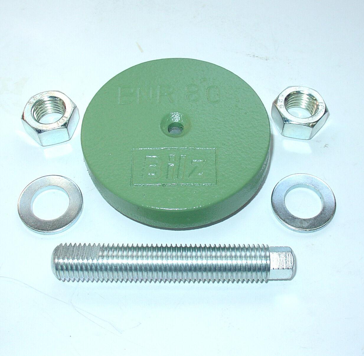 Drehmaschine 4 Maschinenfüße D84 M16x100 grau NEU Fräsmaschine