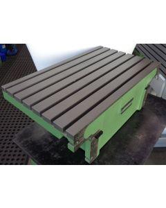 Feststehender Winkeltisch FP4M 4MK 4MA gebr. grün, Decke Fräsmaschine