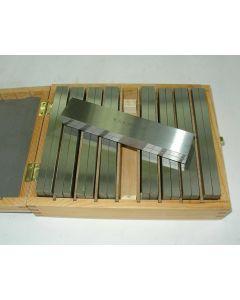 Parallelleistensatz - Parallelunterlagen 200x8 mm 8 Satz, Deckel Fräsmaschin