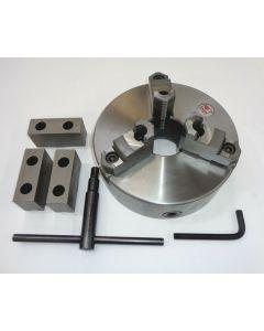 Dreibackenfutter D 250 mm DIN6350 mit geteilten Backen