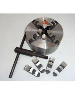Vierbackenfutter D110 mm DIN6350 z.B. für Deckel Fräsmaschine