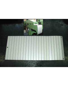 Gliederschurz FP2 - FP3 ab Bj.77 für Deckel Fräsmaschine