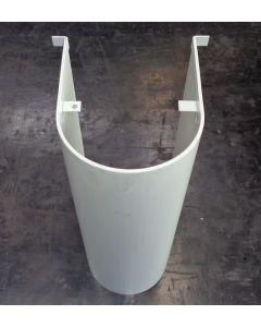 Z -Spindelschutz 2001-635 weiß,  für Deckel FP2/3 Fräsmaschine.
