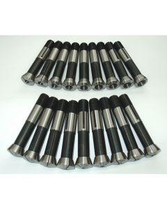 Spannzangensatz 355E D3-18 NEU 1mm steigend, Deckel Fräsmaschine