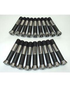 Spannzangensatz 355E D1-18 NEU 1mm steigend, Deckel Fräsmaschine